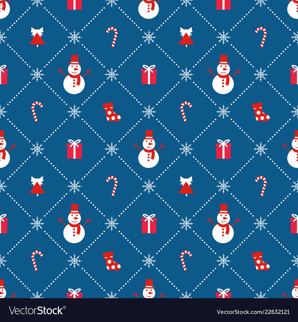 Christmas background seamless