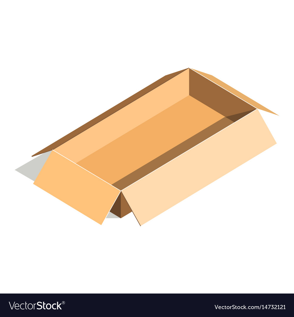 Empty container carton store package delivery