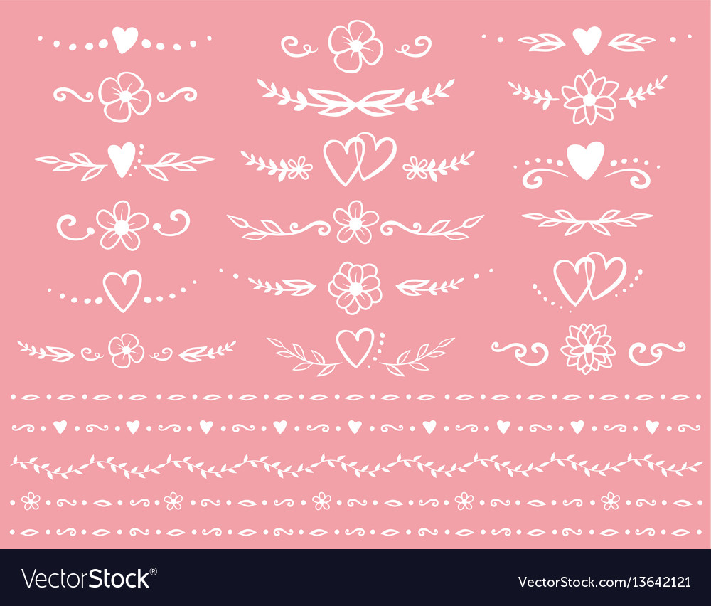 Romantic dividers set
