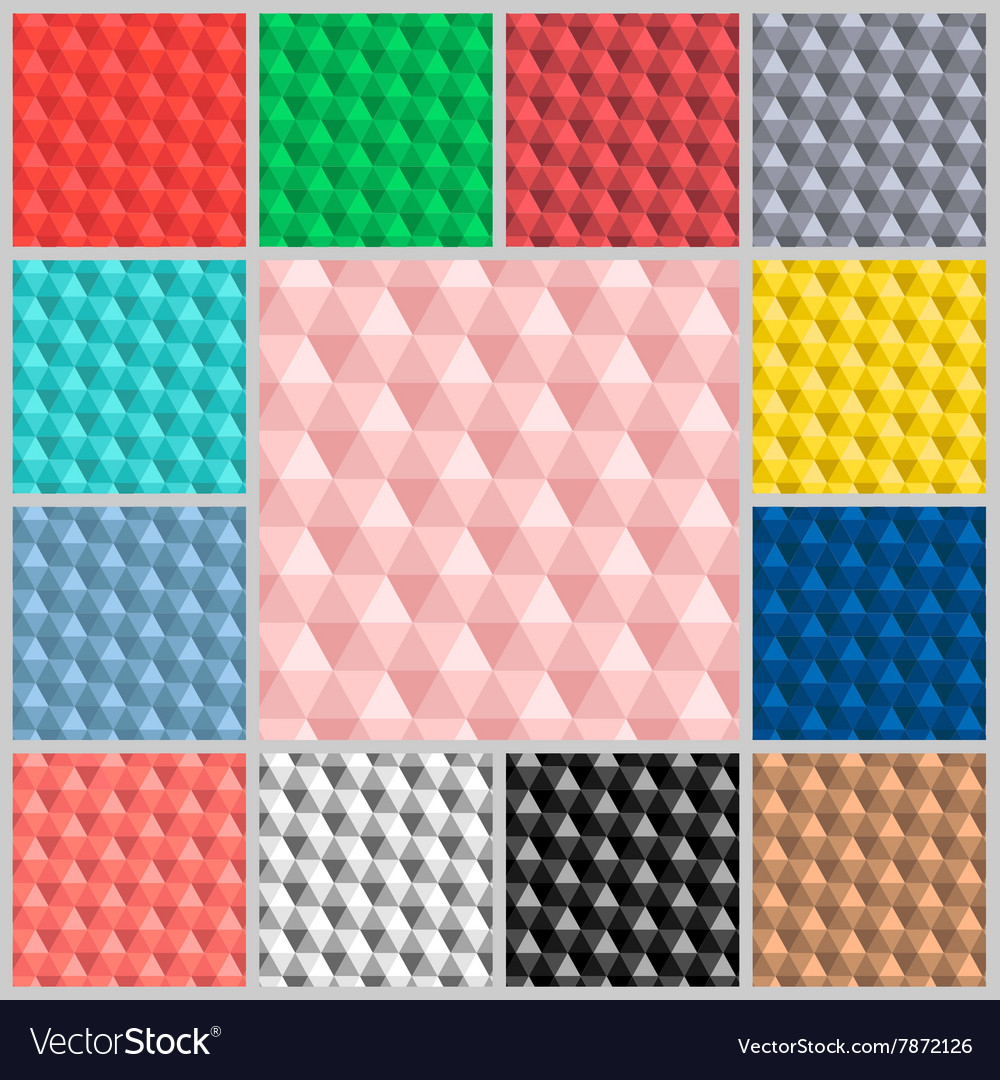 Pattern Hexagon colorful