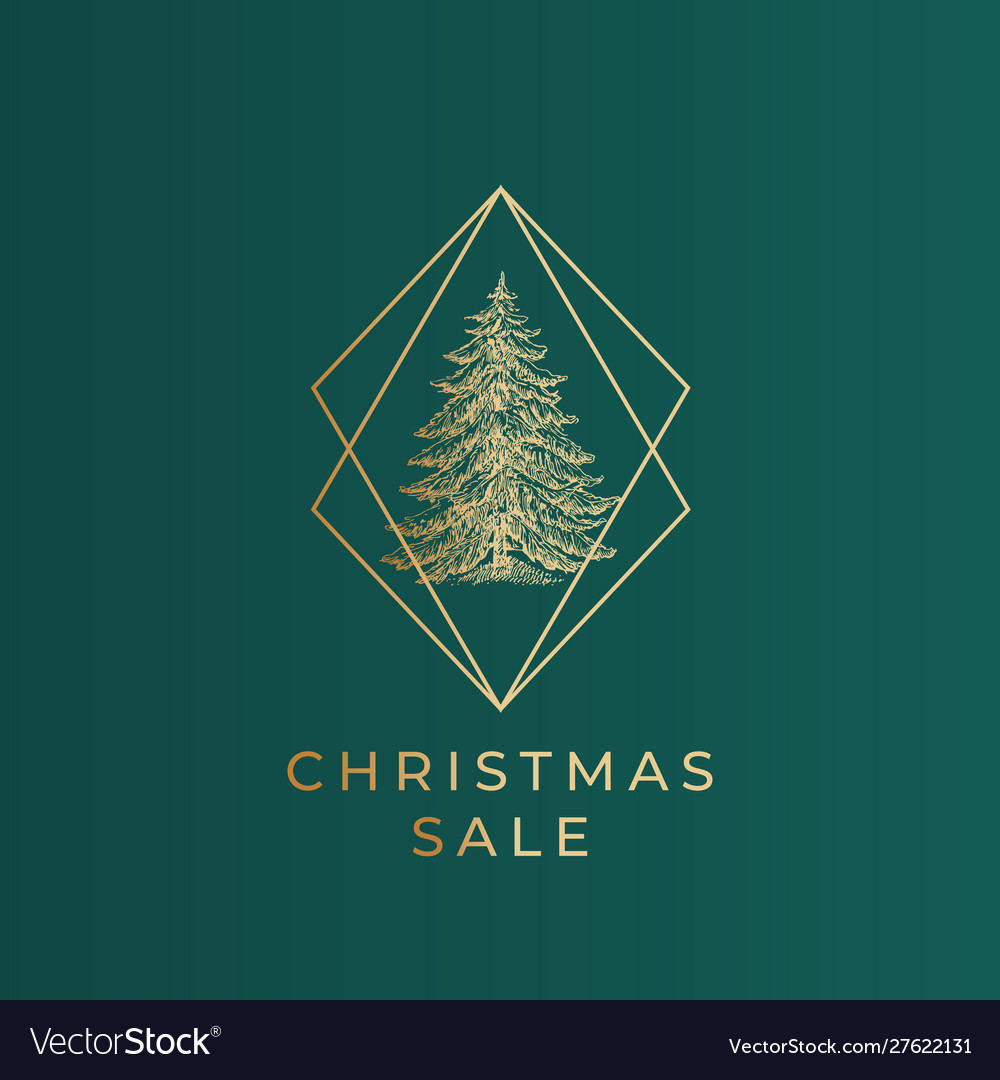 Christmas sale greetings banner template