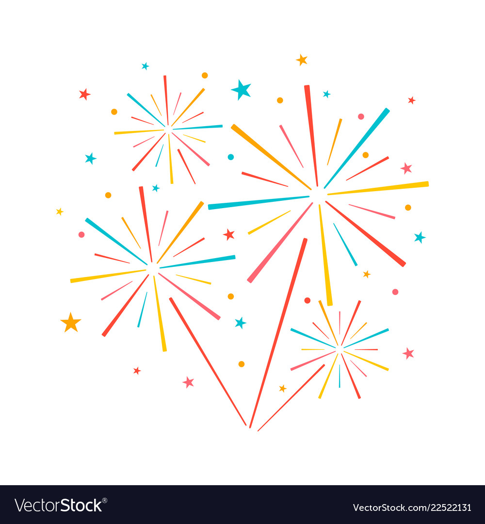 Fireworks icons set