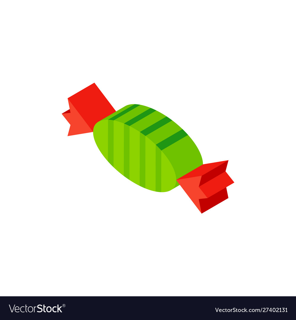 Sweet candy isometric object