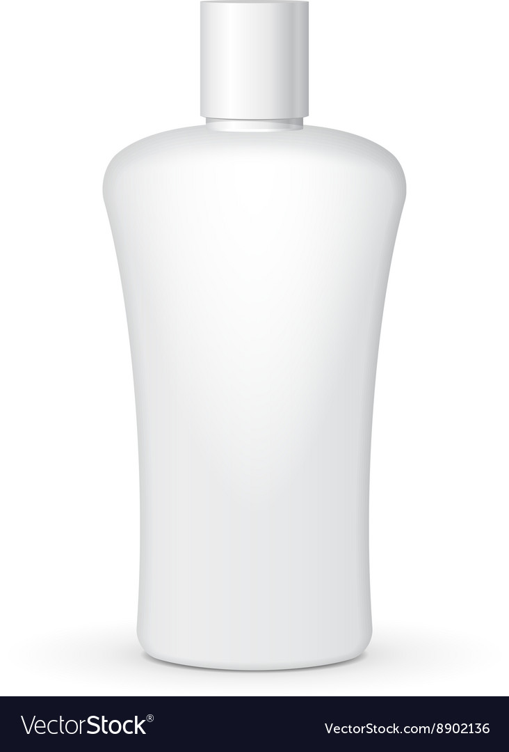 Cream Shampoo Gel Or Lotion Plastic Bottle On