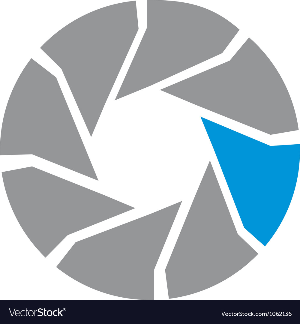 Iris logo vector image