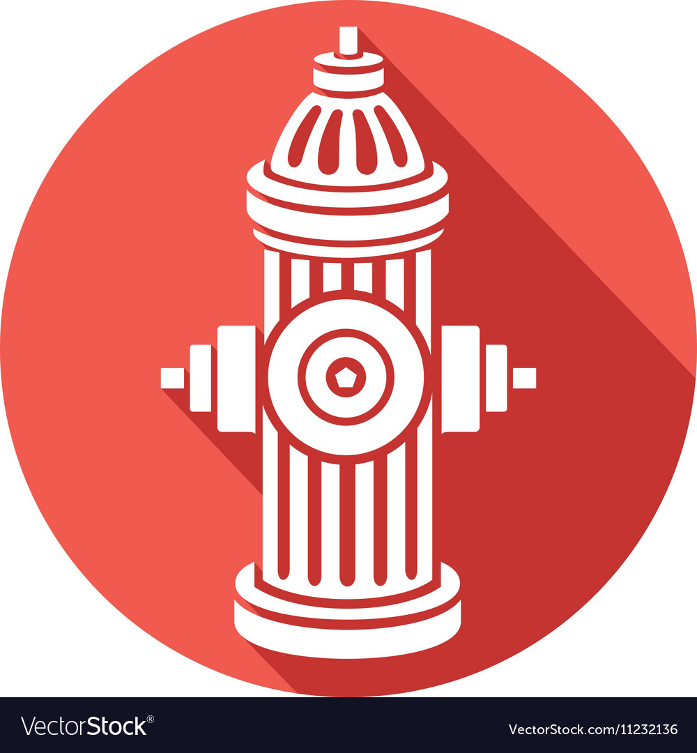 Open Fire Hydrant Icon Royalty Free Vector Image