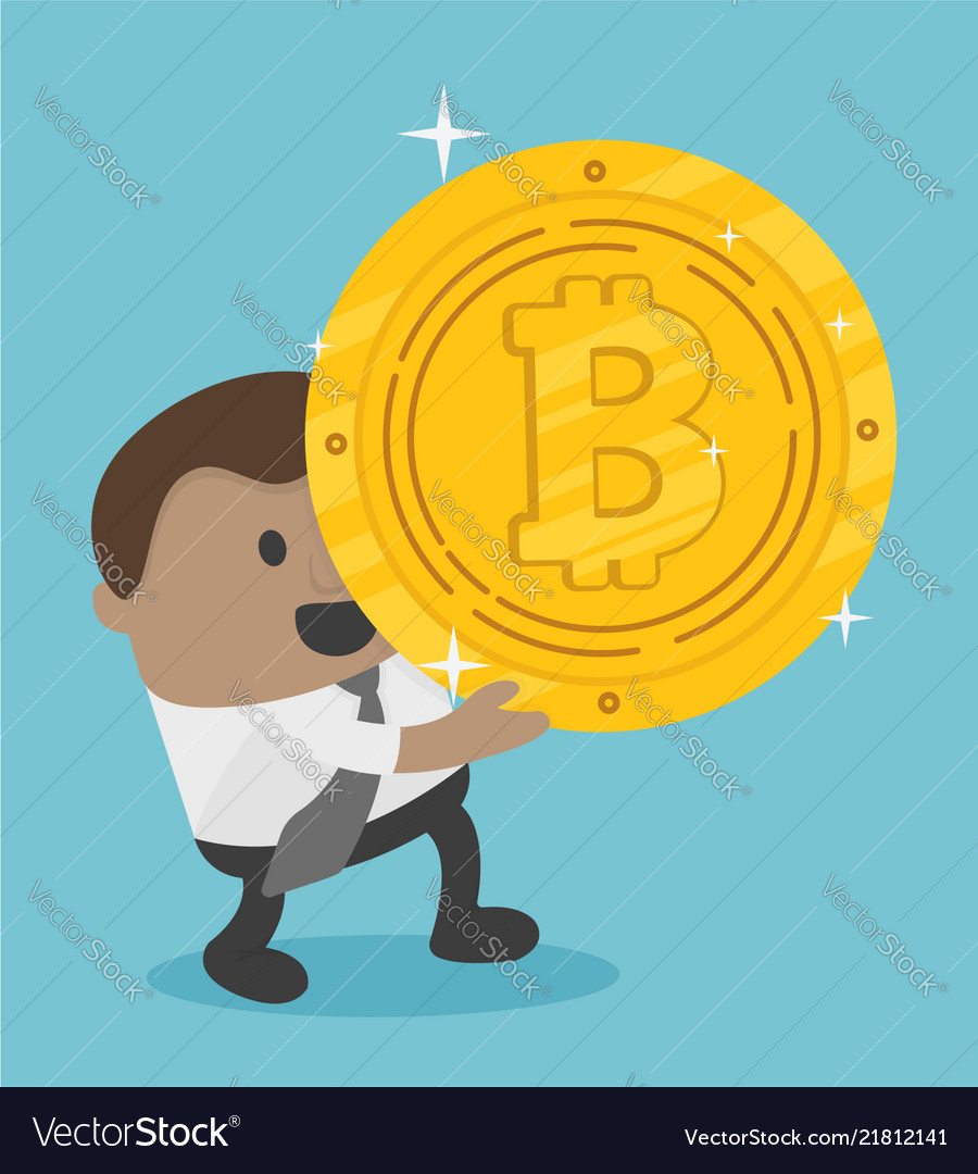 African business achieves a bitcoin he holds a