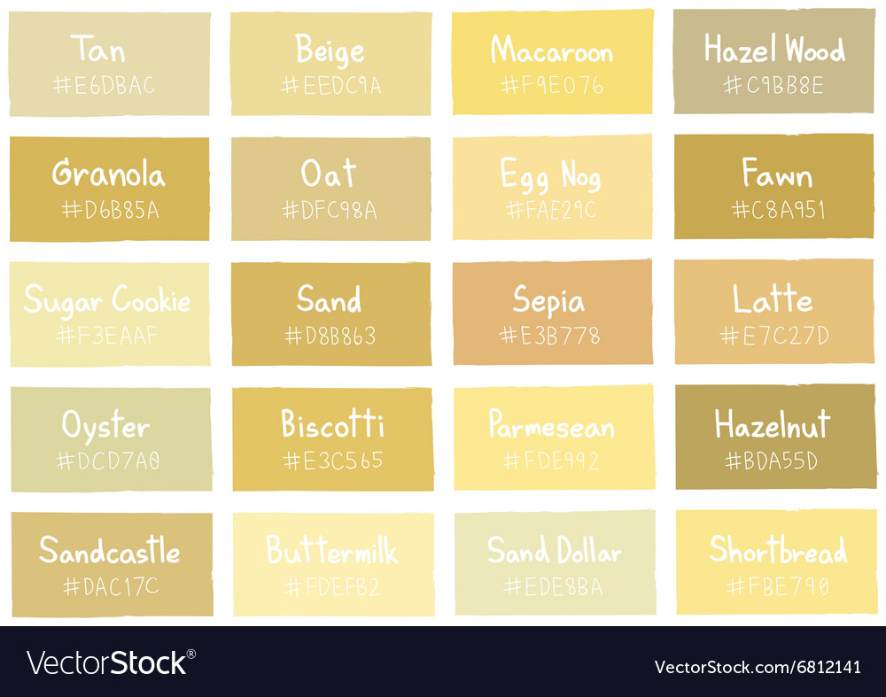 Tan Tone Color Shade Background with Code