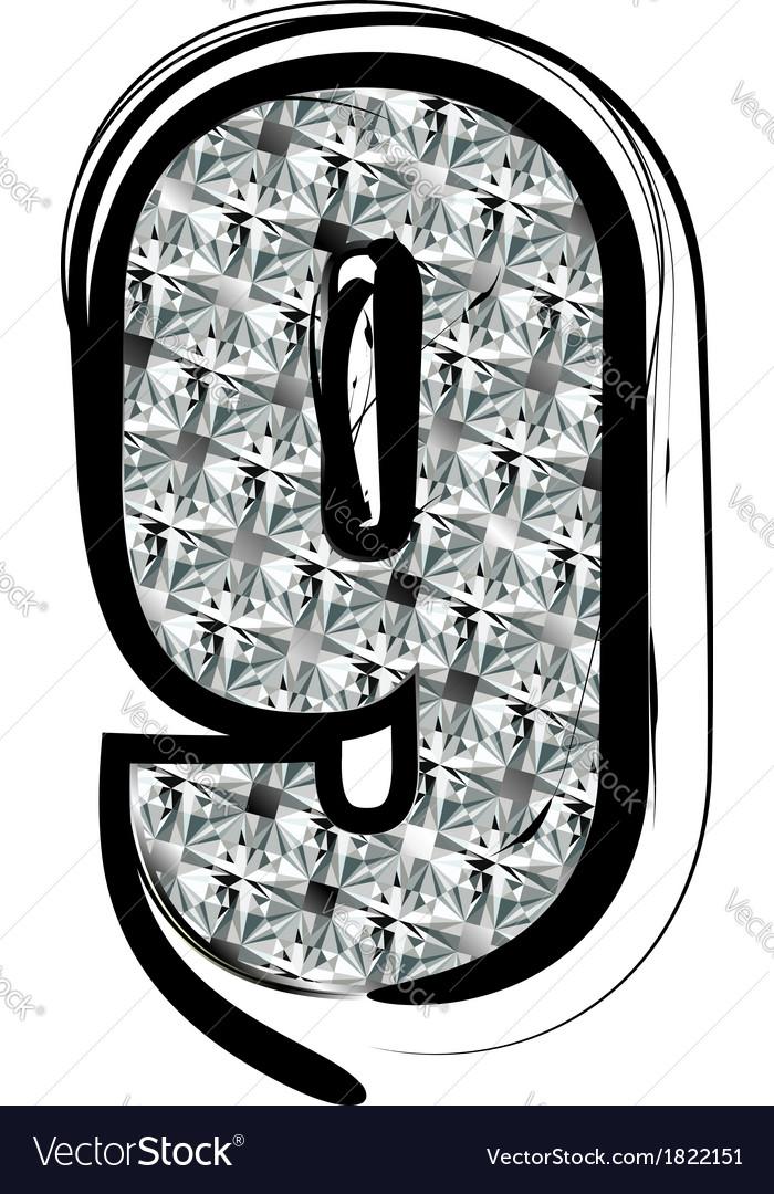 Diamond Font number 9