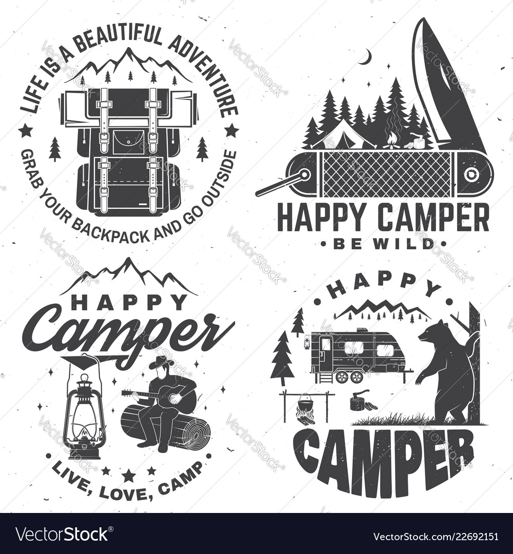 Happy camper concept for