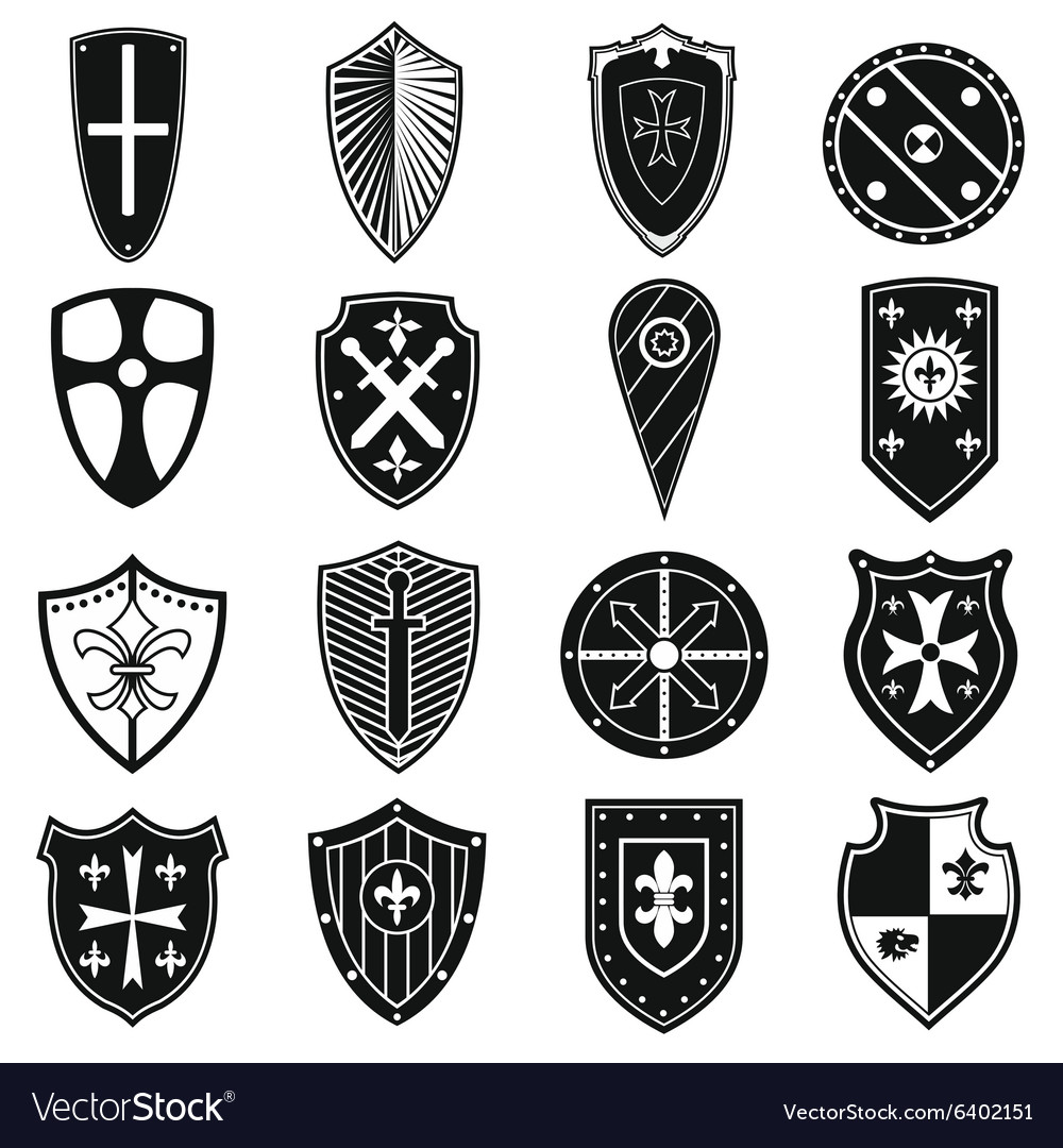 Shields icons set