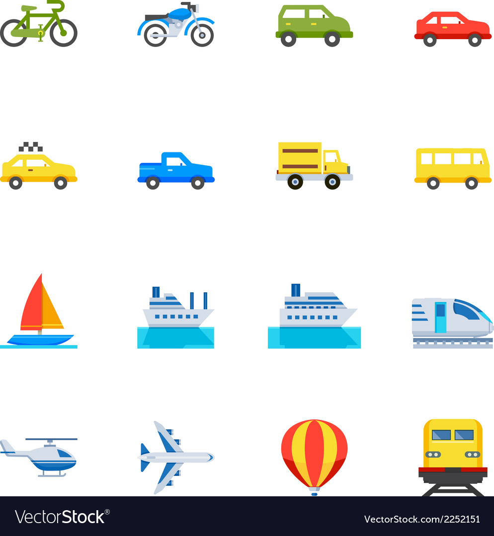 Transportation and Vehicles Icons