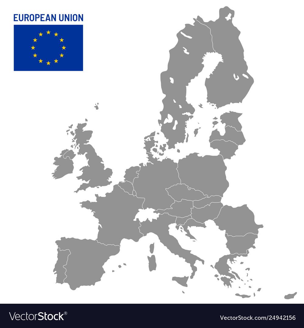 European union map eu member countries europe