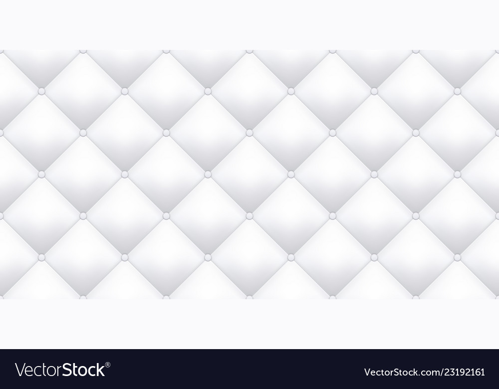 White Leather Upholstery Texture Pattern