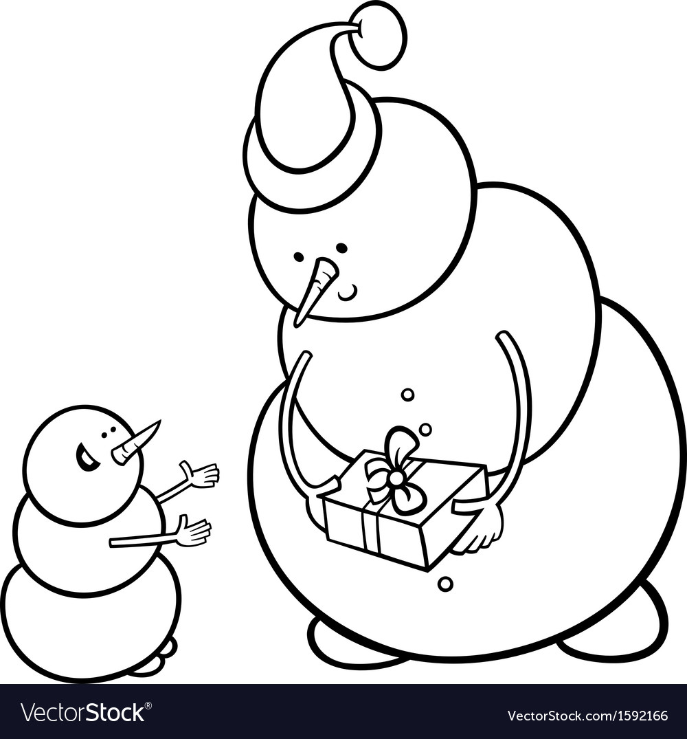990 Top Coloring Pages Christmas Snowman , Free HD Download