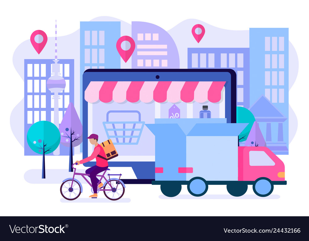 Convenience of shopping online