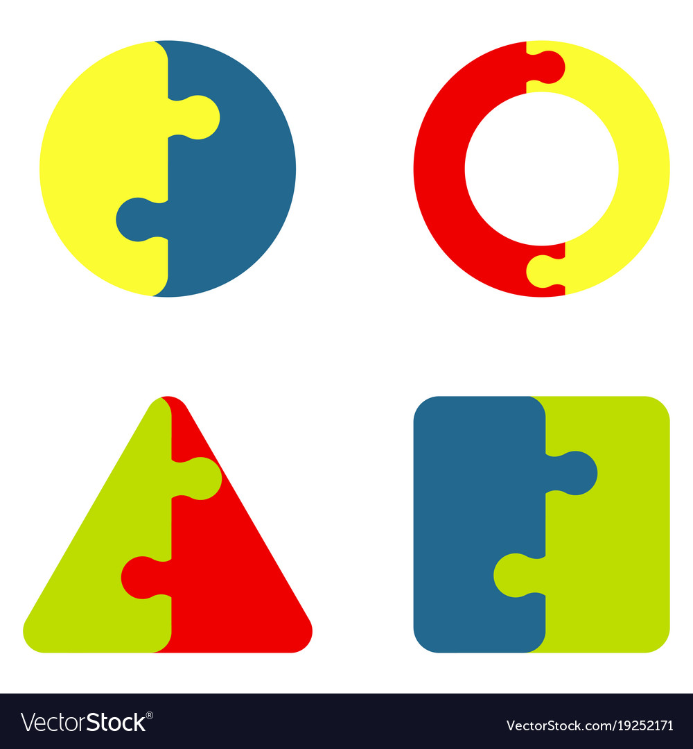 Jigsaw color puzzle