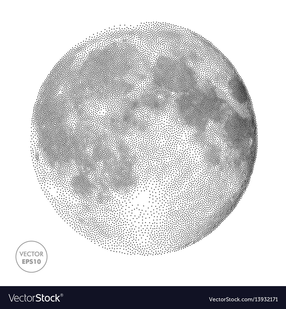 Moon space abstract vector image
