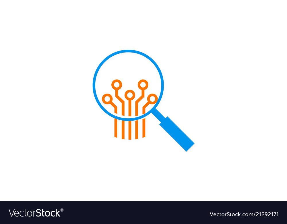 Search technology logo