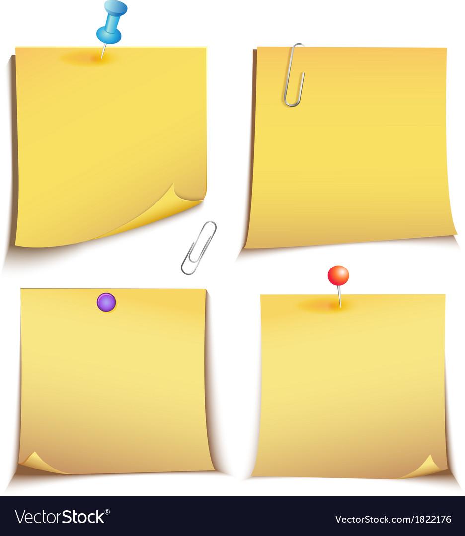 Adhesive memory Notes set