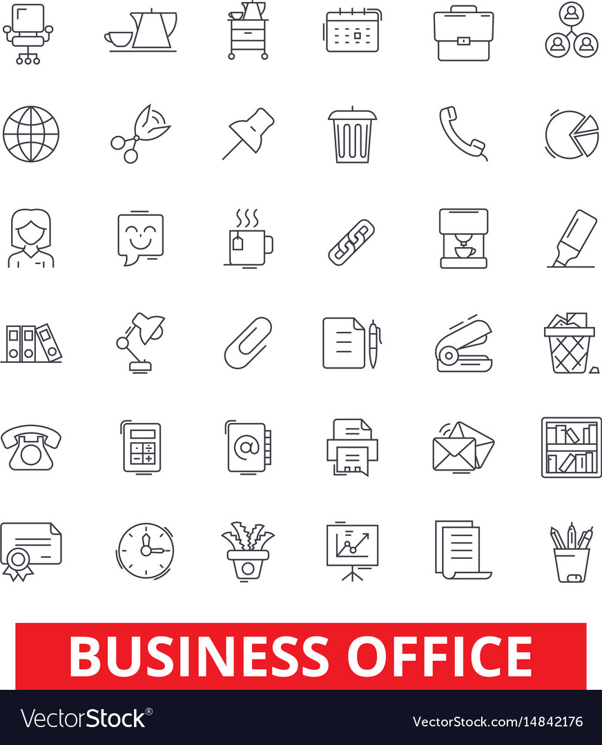 Business office web interface email calendar