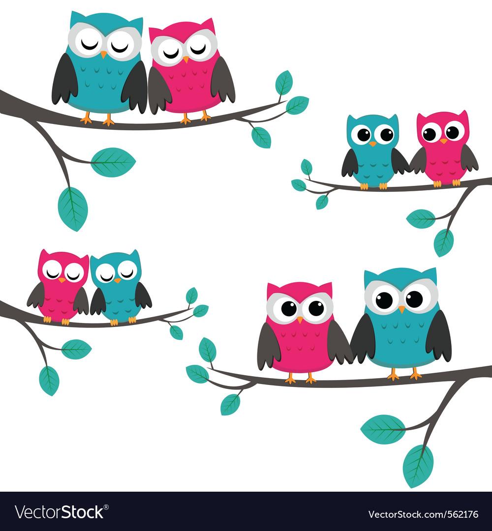 Owls couples set