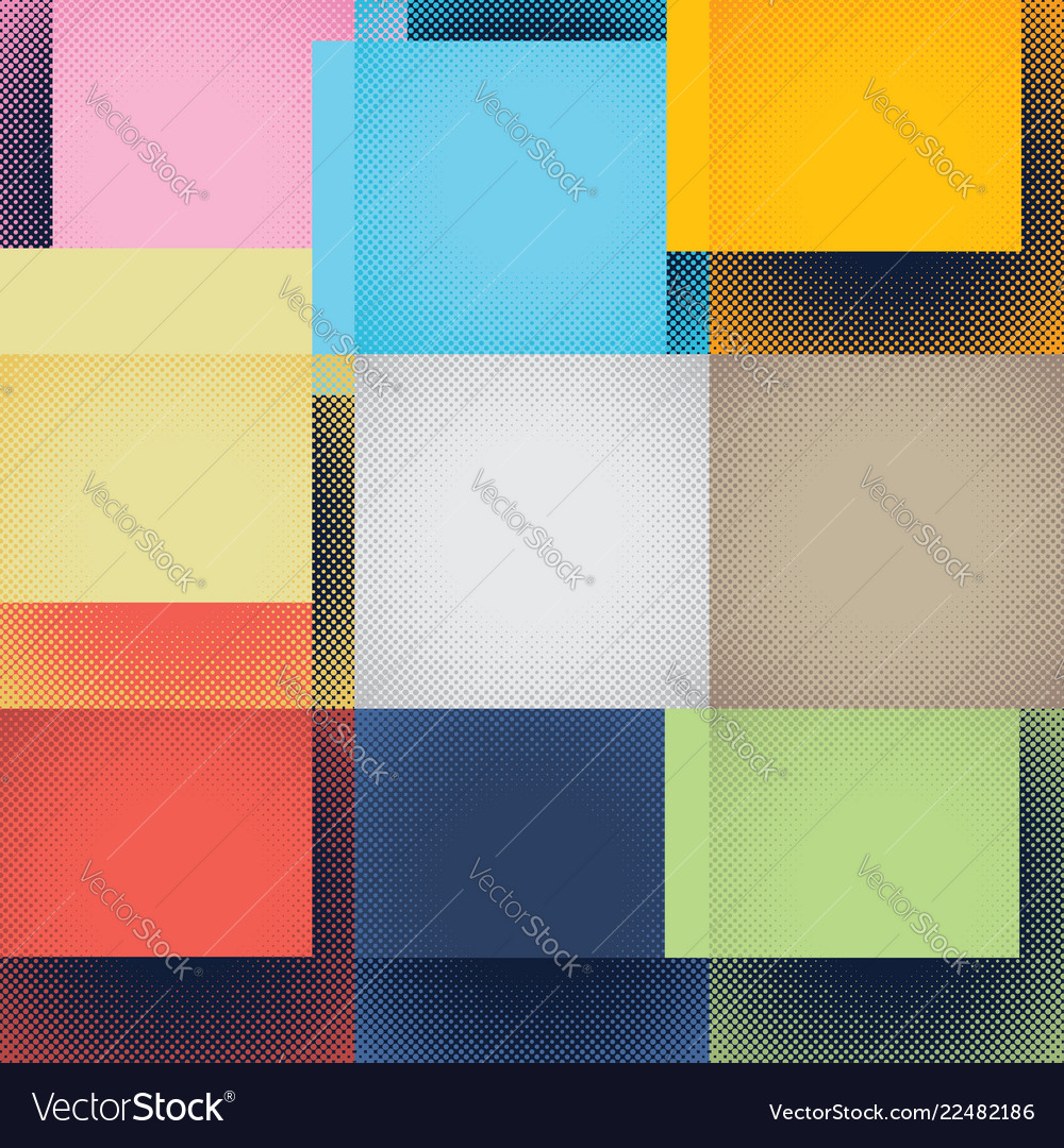 Vintage abstract halftone background
