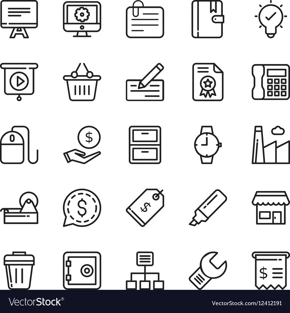 Business Icons 3
