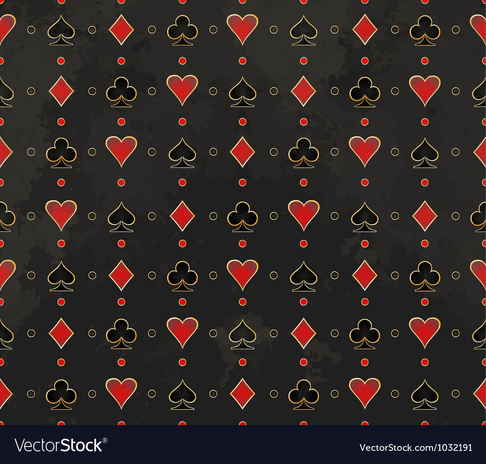 Card suit background Royalty Free Vector Image