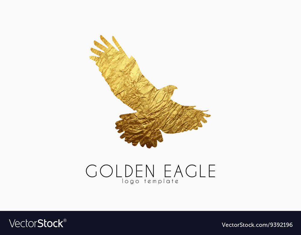Eagle logo Golden eagle Golden bird logo