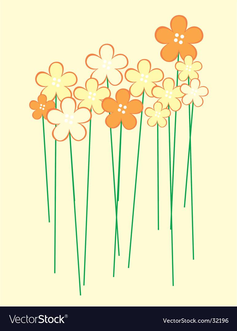 Flor vector image