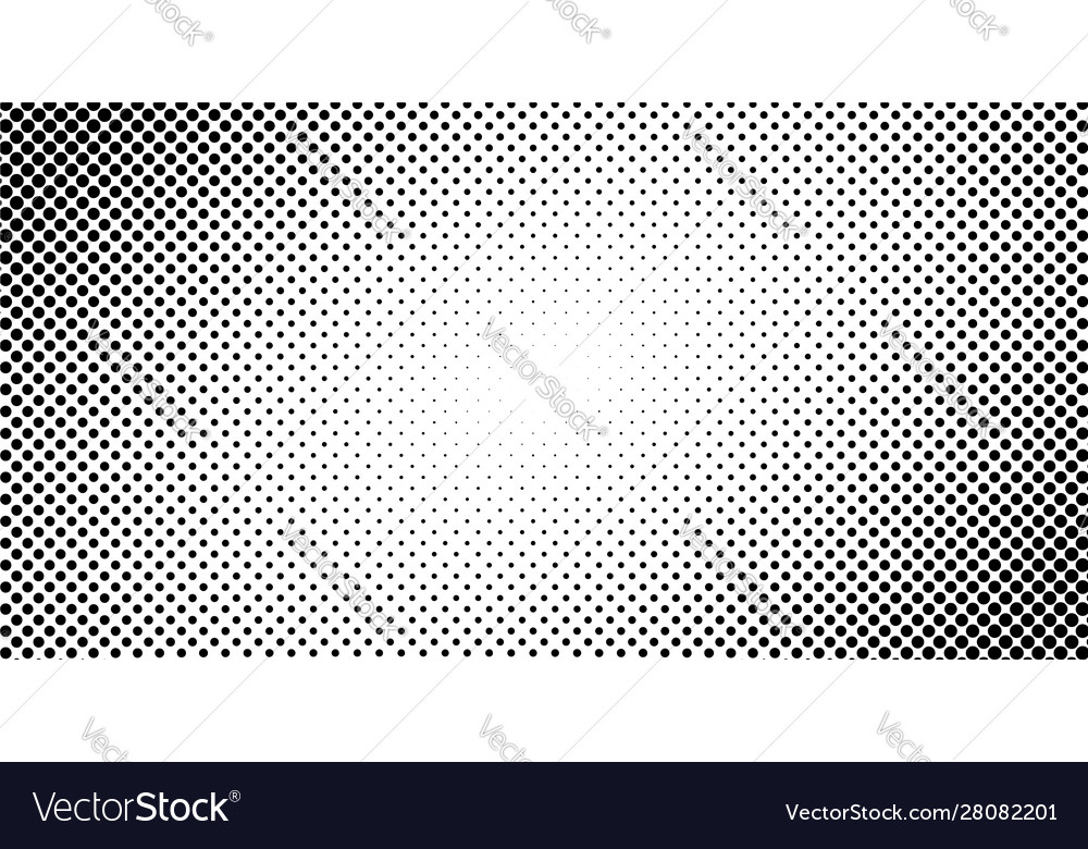 Dotted halftone background or pop art gradient