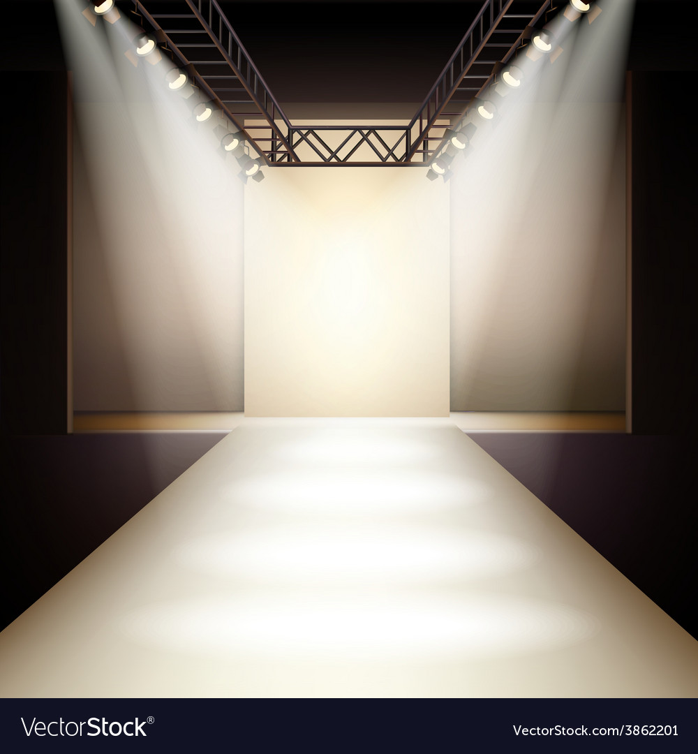 Fashion Runway Background