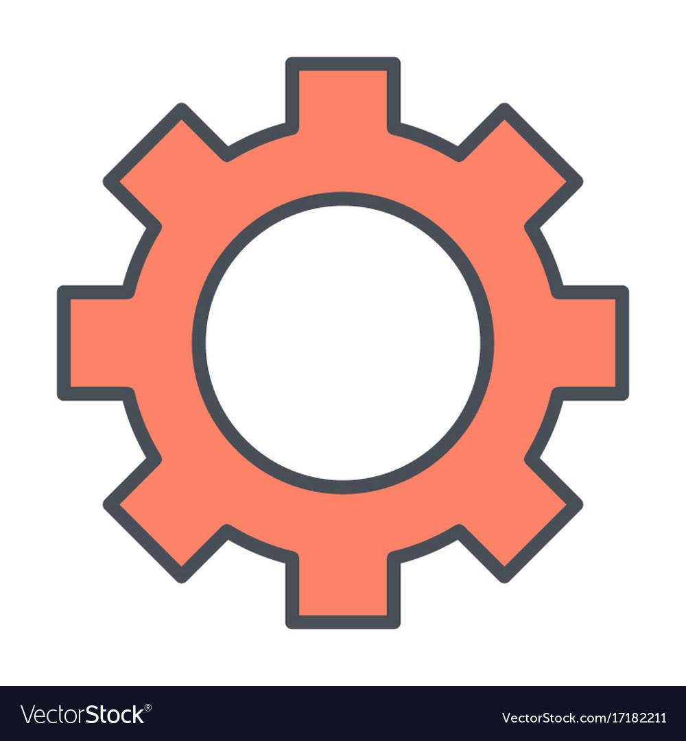 Gear wheel icon options preferences symbol