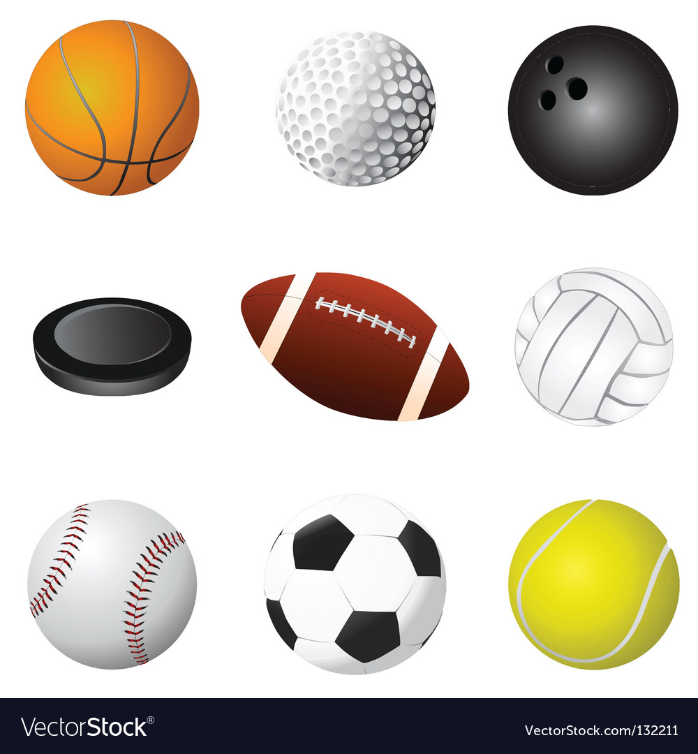 Sport balls detail
