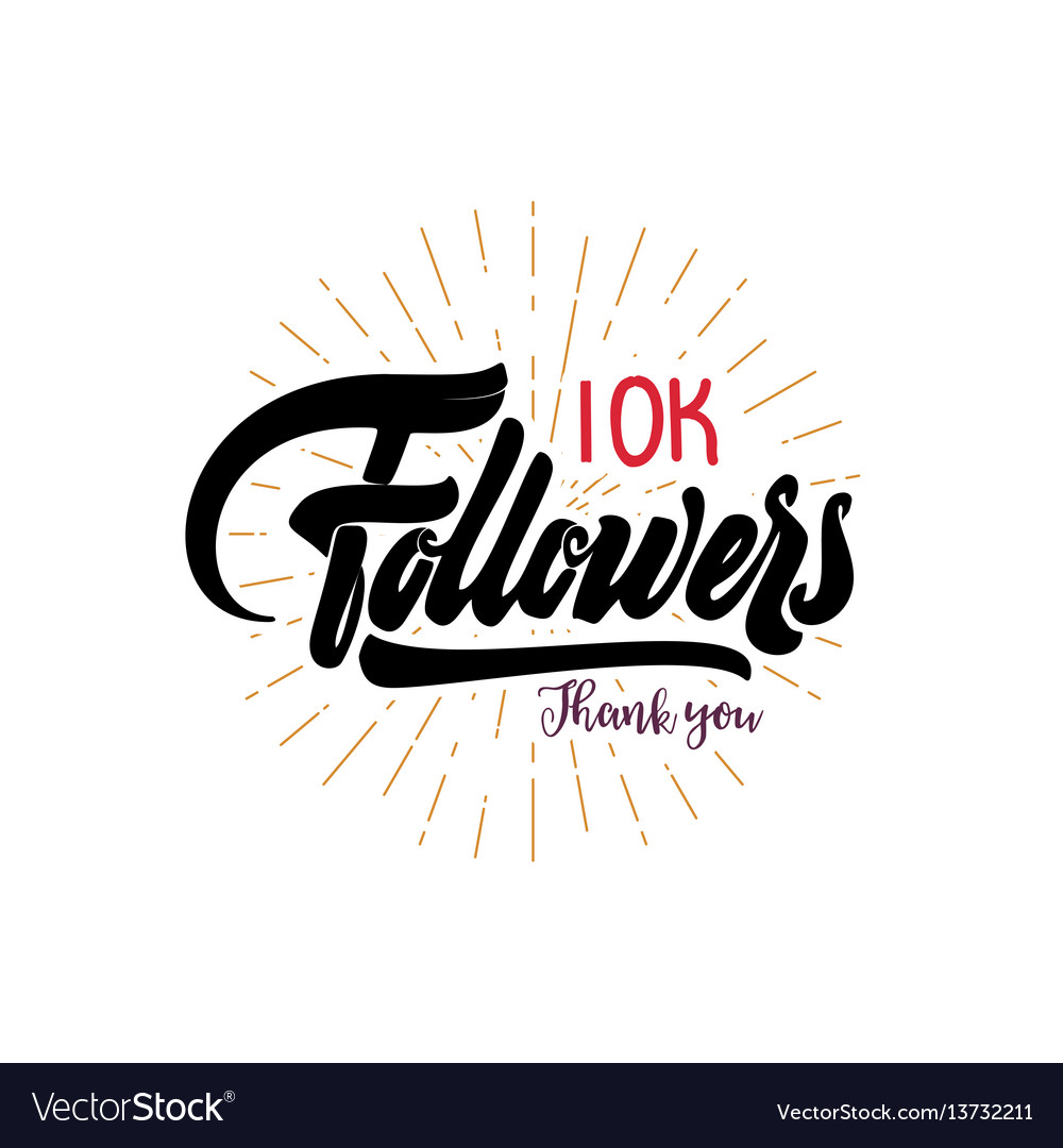 Thank you 10000 followers poster you can use