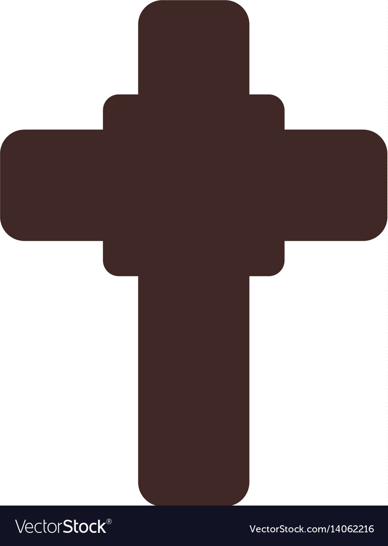 Christianity Cross Symbol Royalty Free Vector Image