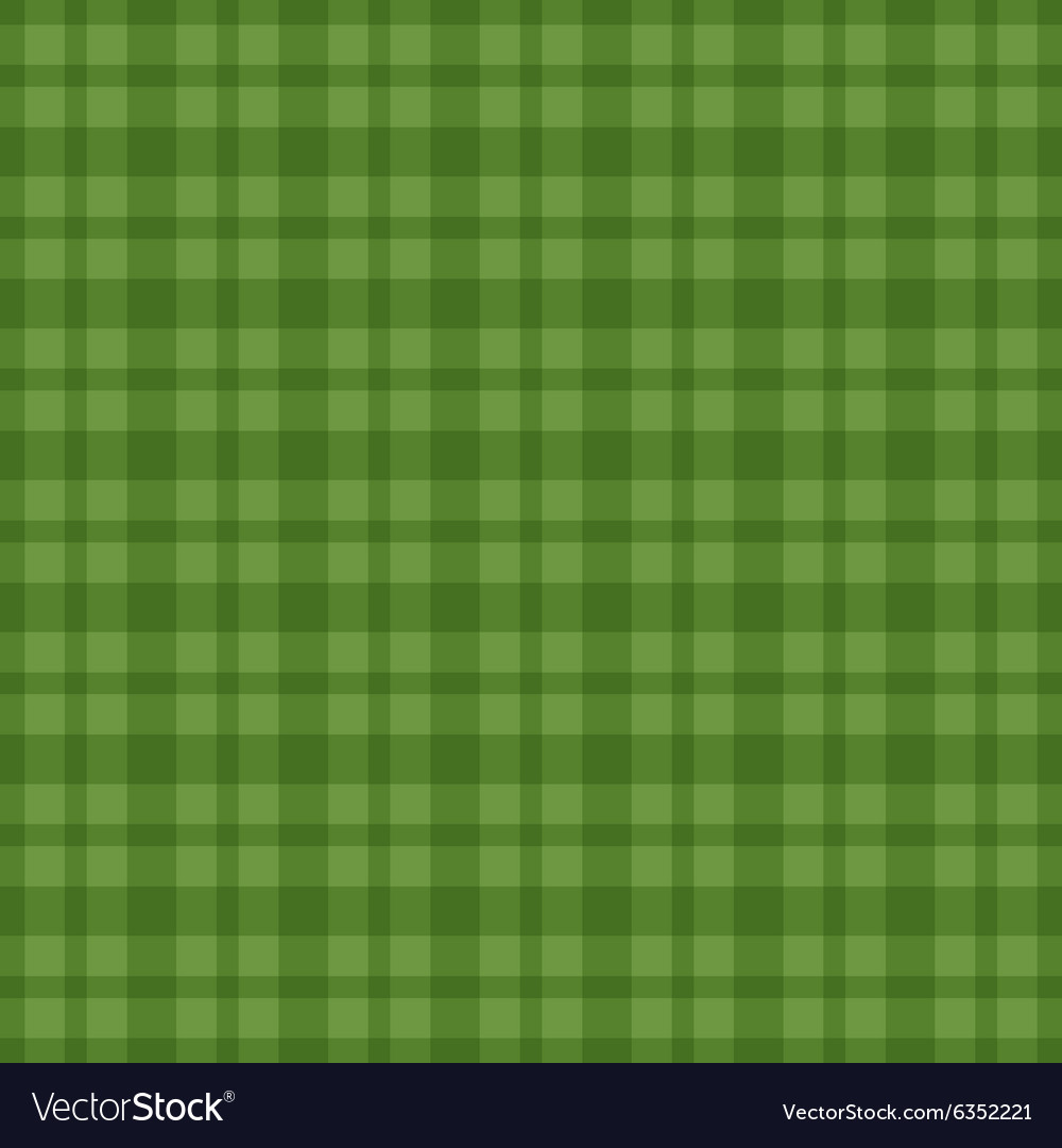 Seamless green vichy pattern