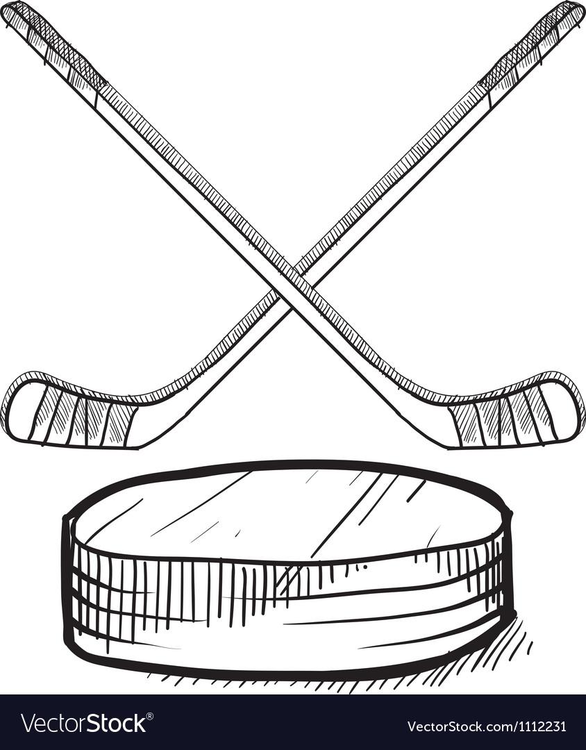 Doodle hockey