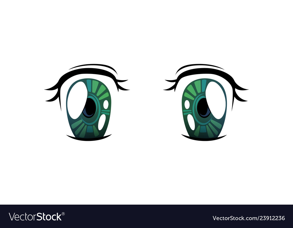 Bright eyes of green cololrs beautiful eyes with