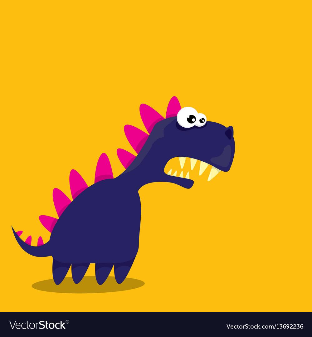 Cartoon funny dragon cartoon dinosaur