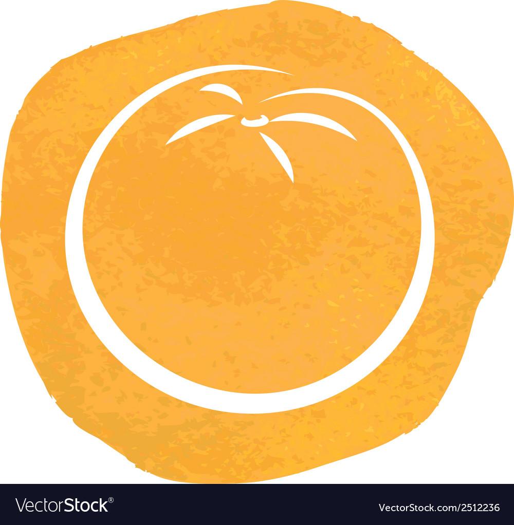 Sketch of orange