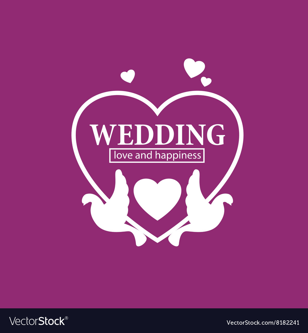 Wedding, Doves, Rings & Ribbon Vector Images (73)