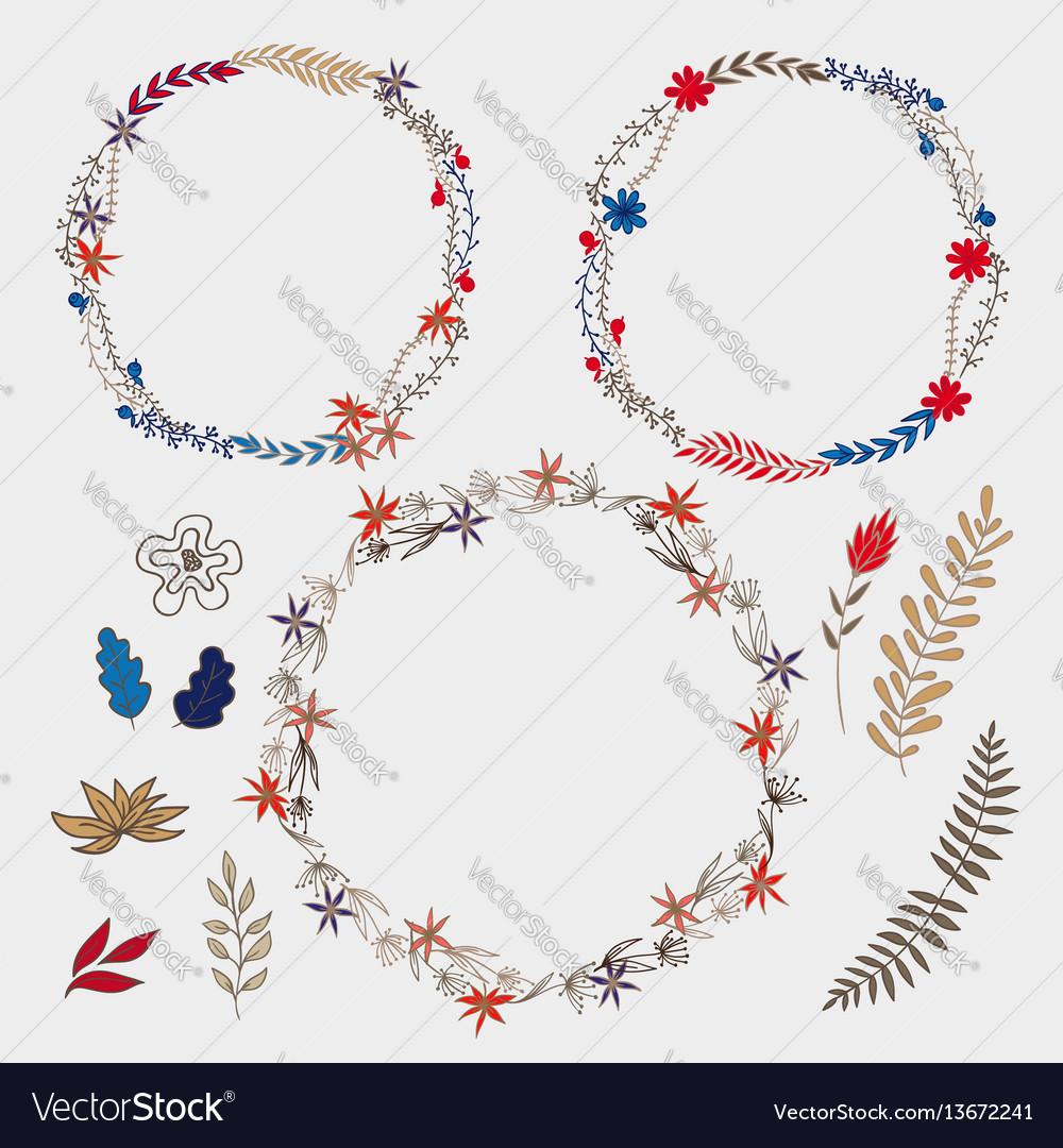 Set wreaths