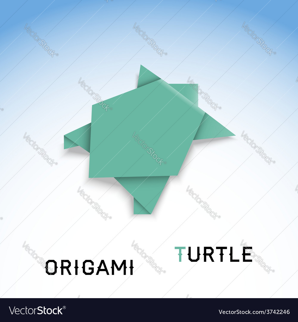 Turtle and Baby Turtle Origami Tutorial | 1080x1000
