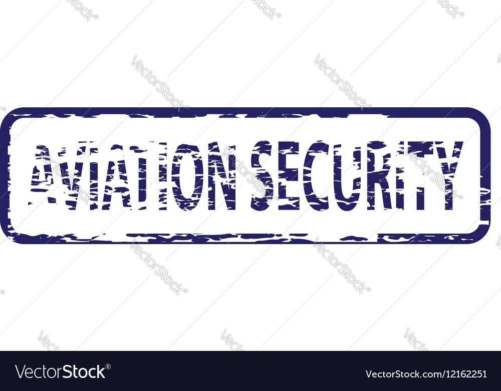 Aviation security stamp
