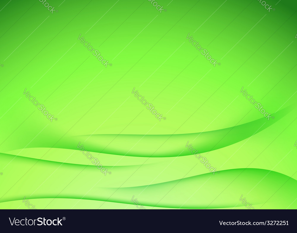 Green abstract border lines certificate template Vector Image