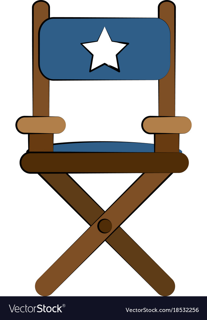 Director wooden chair