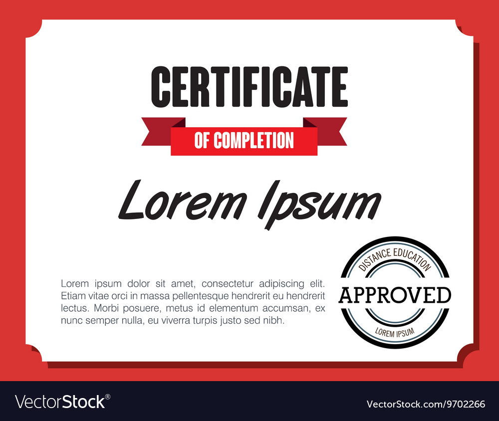 Diploma or certification isolated flat icon