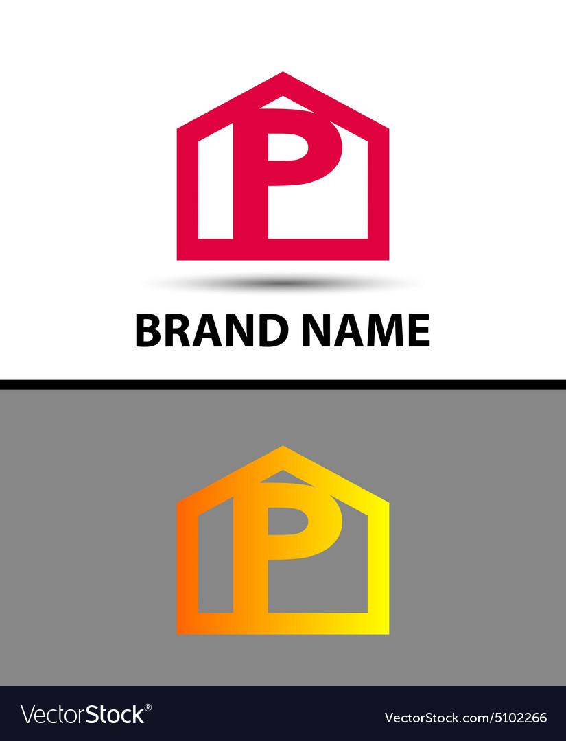 Letter P logo icon